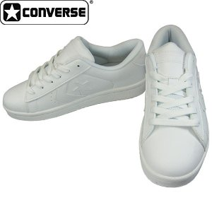 CONVERSE コンバース Lコート 白スニーカー 通学靴|shoeparkkaminari