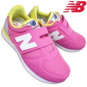ニューバランス スニーカー PV220 ベビー キッズ 子供靴 運動靴 マジックテープ 17.0cm...