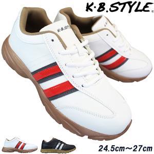 メンズ カジュアルシューズ KB.STYLE 15223 ブラック 幅広 軽量 お買い得 作業靴 shoeparkkaminari