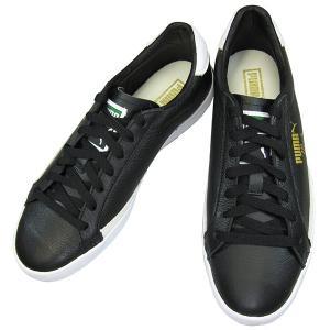 プーマ マッチ VU PUMA 356165-16 ブラック/ホワイト スニーカー 天然皮革 puma356165-16 メンズスニーカー 靴