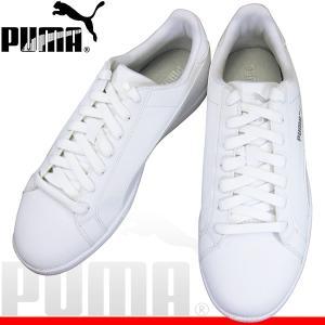 プーマ スマッシュバック puma 356753-24 プーマホワイト/プーマホワイト puma smash buck PUMA356753 メンズ スニーカー カジュアル 白靴 通学靴