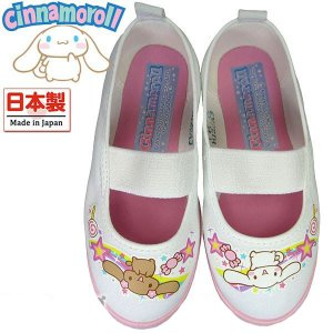可愛いシナモロールの上靴です。  ●マテリアル:エレガンポンジ ●インソール:ビニール中敷 ●幅:2...