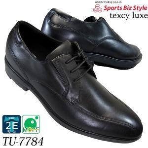 asics trading テクシーリュクス TU7784 黒 ヒモ スワールモカ ポインテッドラウンドトウ アシックス 商事 texcy luxe 7784 メンズ ビジネス 革靴|shoeparkkaminari