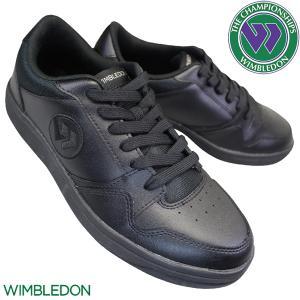 WIMBLEDON ウィンブルドン 037 黒 メンズ レディース 3E KF79501 チャンピオ...
