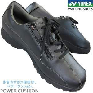 YONEX ヨネックス パワークッション MC21 ブラック メンズ ウォーキングシューズ コンフォートシューズ 撥水