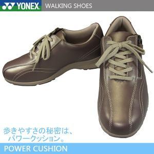 YONEX ヨネックス パワークッション LC30W パールローズ レディース ウォーキングシューズ コンフォートシューズ 4.5E 撥水 shoeparkkaminari