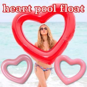 特大 120cm 浮き輪 ハート ドーナツ フラミンゴ 浮き輪 浮輪 プールフロート プール 水遊び ウォーター 海 リゾート 大人 大きいサイズ 夏 ペア SNS インスタ