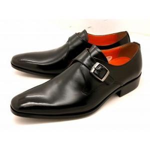 アントニオ ドゥカティ モンクストラップビジネスシューズ DC1172(ブラック) ANTONIO DUCATI 靴 メンズ shoes-aman