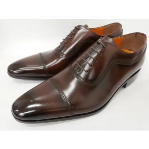 即日発送可能 アントニオ ドゥカティ ストレートチップ DC1173(ダークブラウン) ANTONIO DUCATI 靴 メンズ shoes-aman