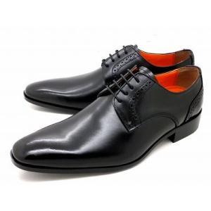 アントニオ ドゥカティ プレーントゥビジネスシューズ DC1175(ブラック) ANTONIO DUCATI 靴 メンズ shoes-aman