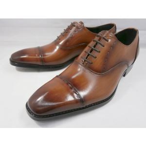 アントニオ ドゥカティ スタイリッシュ・ストレートチップ DC1130(ブラウン) ANTONIO DUCATI 靴 メンズ shoes-aman