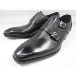 アントニオ ドゥカティ スタイリッシュ・ダブルストラップ DC1132(ブラック) ANTONIO DUCATI 靴 メンズ shoes-aman