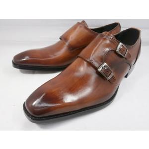 アントニオ ドゥカティ スタイリッシュ・ダブルストラップ DC1132(ブラウン) ANTONIO DUCATI 靴 メンズ shoes-aman
