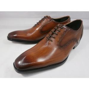 アントニオ ドゥカティ スタイリッシュ・ホールカット DC1133(ブラウン) ANTONIO DUCATI 靴 メンズ shoes-aman