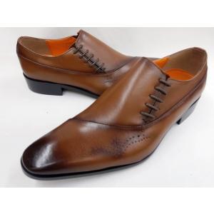 即日発送可能 アントニオ ドゥカティ サイドレースビジネスシューズ DC1179(ダークブラウン) ANTONIO DUCATI 靴 メンズ shoes-aman