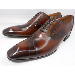 アントニオ ドゥカティ ロングノーズ DC1191(ダークブラウン) ANTONIO DUCATI メンズ靴 ビジネスシューズ shoes-aman