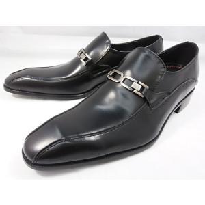 アントニオ ドゥカティ チゼルトゥ・ビットスリポン DC1231(ブラック) ANTONIO DUCATI 靴 メンズ shoes-aman