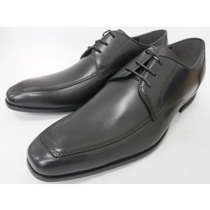 ヒロコ コシノ 本革 ビジネスシューズ Uチップレース HK118(ブラック) HIROKO KOSHINO メンズ靴|shoes-aman