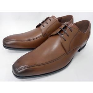 ヒロコ コシノ 本革 ビジネスシューズ スワールレース HK122(ブラウン) HIROKO KOSHINO メンズ靴|shoes-aman