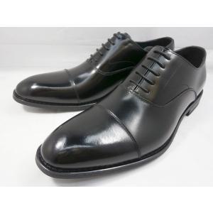 ヒロコ コシノ 本革 ビジネスシューズ ストレートチップ HK3201(ブラック)HIROKO KOSHINO メンズ靴|shoes-aman