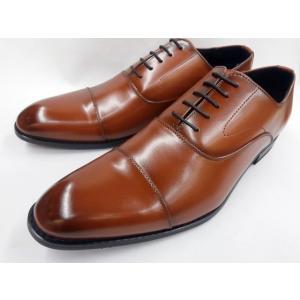【28.0cm】【29.0cm】ヒロコ コシノ ビジネスシューズ ストレートチップ HK14601(ブラウン) HIROKO KOSHINO メンズ 靴|shoes-aman