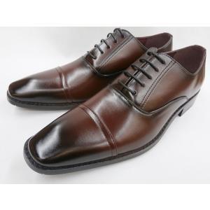 【28.0cm】【29.0cm】【30.0cm】ヒロコ コシノ ビジネスシューズ ストレートチップ HK9801(ワイン) HIROKO KOSHINO メンズ 靴|shoes-aman