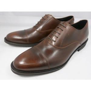 ケンフォード 靴 メンズ ストレートチップ ビジネスシューズ KN62 ACJ(ブラウン)KENFORD|shoes-aman