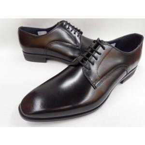 ケンフォード 靴 メンズ ニュースマート プレーントゥ ビジネスシューズ KN71 AC5(ブラック) KENFORD|shoes-aman