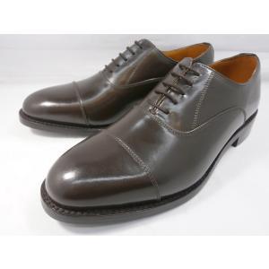 ロンドンシューメイク オックスフォード&ダービー8001(ダークブラウン) ストレートチップ メンズ ビジネスシューズ グッドイヤー製法 1万円紳士靴|shoes-aman