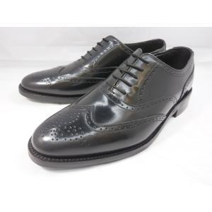 ロンドンシューメイク オックスフォード&ダービー8002(ブラック) ウィングチップ メンズ ビジネスシューズ グッドイヤーウェルト製法 本格紳士靴|shoes-aman