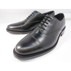 ロンドンシューメイク オックスフォード&ダービー8003(ブラック) ストレートチップ メンズ ビジネスシューズ グッドイヤー製法 1万円紳士靴|shoes-aman