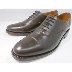 ロンドンシューメイク オックスフォード&ダービー8003(ダークブラウン) ストレートチップ メンズ ビジネスシューズ グッドイヤー製法 1万円紳士靴|shoes-aman