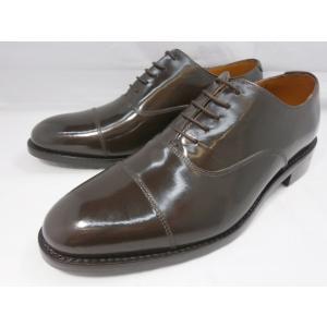 ロンドンシューメイク オックスフォード&ダービー8008(ダークブラウン) ストレートチップ メンズ ビジネスシューズ グッドイヤー製法 1万円紳士靴|shoes-aman