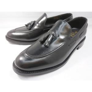 ロンドンシューメイク オックスフォード&ダービー8009(ブラック) タッセルローファー メンズ ビジネスシューズ グッドイヤーウェルト製法 本格紳士靴|shoes-aman