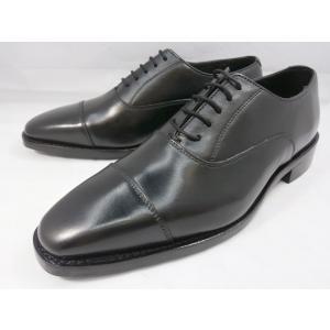 ロンドンシューメイク オックスフォード&ダービー8025(ブラック) チゼルストレートチップ メンズ ビジネスシューズ グッドイヤーウェルト製法 1万円紳士靴|shoes-aman