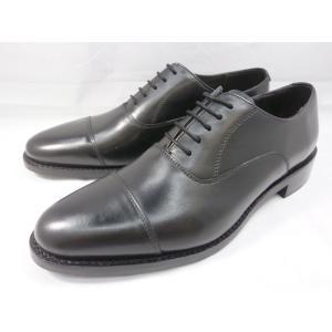 ロンドンシューメイク オックスフォード&ダービー8027(ブラック) 内羽根ストレートチップ メンズ ビジネスシューズ グッドイヤーウェルト製法 紳士靴|shoes-aman