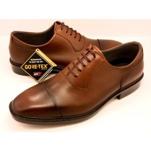 【完全防水 GORE−TEX ゴアテックス 採用】【通勤快足】 Business EXpress TK3309(ブラウン)|shoes-aman