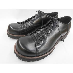 フープディドゥ バルーントゥおでこ靴 108604(ブラック) whoop'-de-doo' メンズ靴|shoes-aman