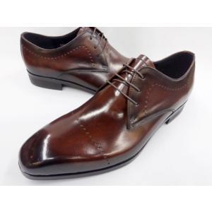 19年新製品 フープディドゥ アンティーク ブラッチャービジネスシューズ 128024(ブラウン)  whoop'-de-doo' メンズ 靴|shoes-aman