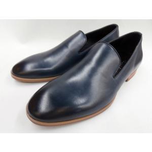 フープディドゥ オペラスリッポンシューズ 19130011 (ネイビー) whoop'-de-doo'  メンズ靴|shoes-aman