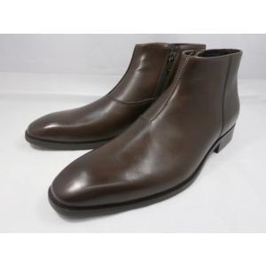 【在庫限り/即日発送】 フープディドゥ メンズサイドジップドレスブーツ 307212(ダークブラウン) whoop'-de-doo' メンズ靴|shoes-aman