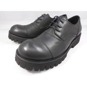 18年秋発売 フープディドゥ 軽量!厚底おでこ靴 378182(ブラック) whoop'-de-doo' メンズ 靴|shoes-aman