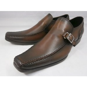 【現品/即日発送】18年秋発売 フープディドゥ 本革スワールモカスリッポン 378222(キャメル) whoop'-de-doo' メンズ靴 |shoes-aman