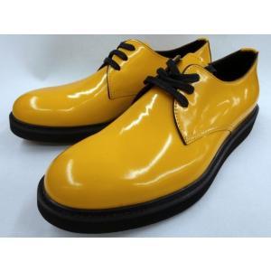 whoop'EE'(フーピー)フラットソールポストマンシューズ 308363 (イエロー) フープディドゥ|shoes-aman
