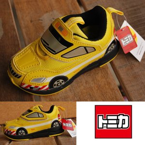 トミカ TOMICA 子供靴 スニーカー シューズ こども靴 スニーカー 10503 道路パトロールカー イエロー キャラ靴 Y_KO【1212sh】 【Y_KO】 【ren】|shoes-garage