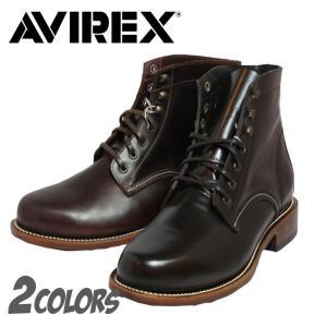 AVIREX アビレックス ブーツ メンズ 正規品 アヴィレックス COUGAR クーガー 本革ブーツ レザーAV2650 全2色 【Y_KO】 【ren】|shoes-garage