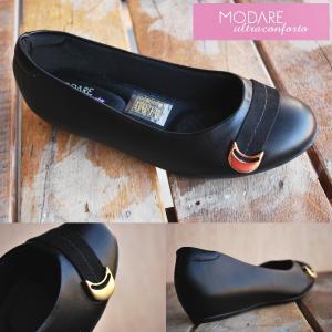 バレエシューズ パンプス modare モダレ フラットシューズ フォーマル ビジネス 7012-107-7655-15745|shoes-garage