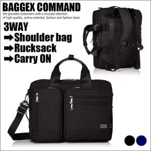 BAGGEX COMMAND 23-5603 ショルダーバッグ ビジネスバッグ リュックサック キャリーオン コーデュラナイロン B4対応 SD6227385 UNO 180806 shoes-garage
