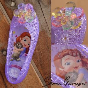 ディズニー Disneyzone シューズ 女の子 6928 ちいさなプリンセス ソフィア キッズ ガラスのサンダル  【Y_KO】■05160429 【ren】|shoes-garage