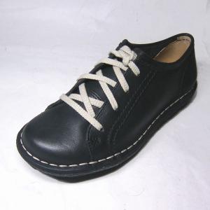 クラークス Clarks Peppi Sleek ペッピスリーク ブラックレザー 22.0cm レディース カジュアル・コンフォートシューズ 056F|shoes-maro
